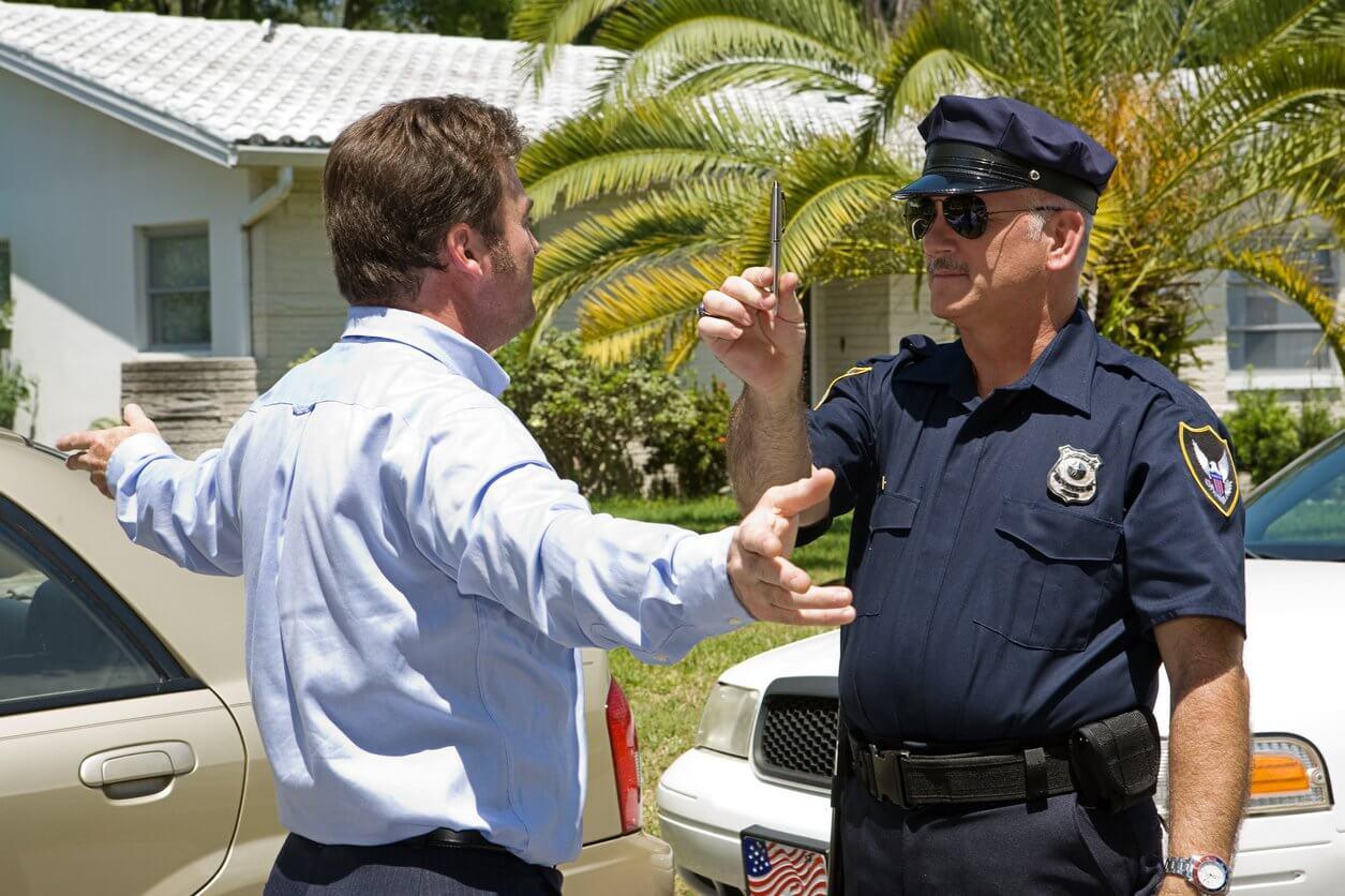 Suspicion of DUI